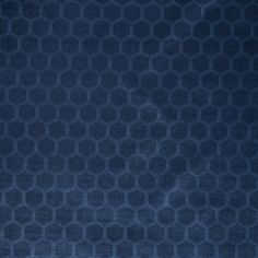 Navy Blue Velvet Upholstery Fabric - Contemporary Geometric Upholstery Yardage - Navy Padded Headboard - Dark Blue Geometric Pillow