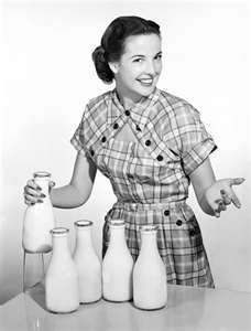 I remember when the milk man used to deliver milk outside the back door when we were kids.