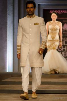 Soma Sengupta Indian Bridegroom- Polished White!