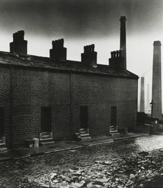 Coal Miners' Houses, East Durham photo by Bill Brandt,...