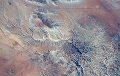 Desert and mountains in Chile.  Tim Kopra (@astro_tim) | Twitter