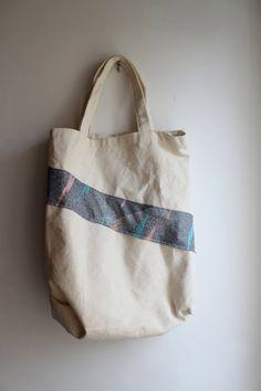 Hip 90's tote bag ready to ship von KittenSurprise auf Etsy