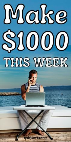 Looking for ways to make an extra $1000 this week? Here are legit online jobs and side hustles to help you out. Learn how to make money online and what are the best side jobs to make money fast when you need it urgently! Not only that you'll learn how to make money quickly but you'll learn how to make cash from home in your spare time too. Make Money Fast, Earn Money, Make Money Online, Best Side Jobs, Legit Online Jobs, Cash From Home, Flexibility, Learning, Make Quick Money