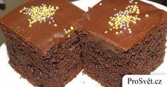 Čokoládový řez