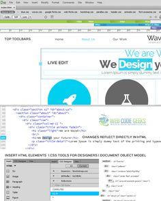 Adobe Dreamweaver CC 2015 UI!