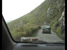 Connor Pass, Dingle Ireland. This is a road we drove down when we went. Two way traffic all the way on the side of a cliff. Scary but I highly recommend it!