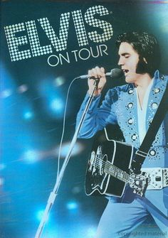 The new cover of Elvis on Tour. Love it!