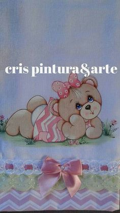 Bear Pictures, Love Sewing, Pretty Baby, More Cute, Fabric Painting, Cute Baby Animals, Diy Art, Cute Babies, Coloring Pages