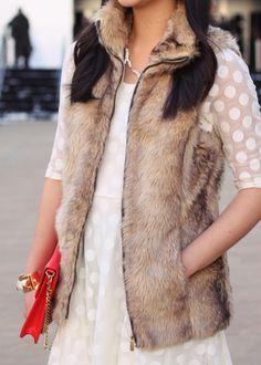Polka Dots and Fur.
