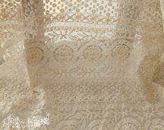 Popular items for Ivory Lace Fabric on Etsy