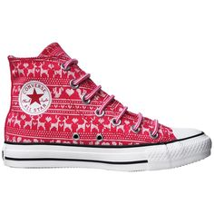 b4b022a0d2d1 Converse Chuck Taylor Schuhe All Star Chucks 532140 Winter Wild Raspberry  Rot HI