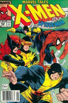 Marvel Tales (1964) #233 - Along Came a Spider... [reprints Uncanny X-Men (1963) #35]