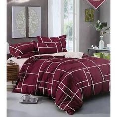 Bavlněné francouzské povlečení Dlaždice vínové Comforters, Blanket, Bed, Home, Creature Comforts, Quilts, Stream Bed, Ad Home, Blankets