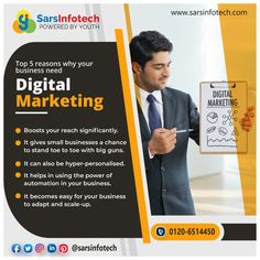 Digital Marketing is one of those marketing tricks that are extensively used by multiple organisations over a period of time to give them the right amount of everything. 🟢 It helps in boosting your presence. 🟢 It gives you a chance to reach your potential customers. 🟢 It makes the right marketing strategy. 🟢 It offers a lot of benefits as SMO and SEO are two vital parts of Digital Marketing. #digitalmarketing #marketing #socialmediamarketing #socialmedia #business Social Media Marketing Companies, Online Marketing Services, Big Guns, Seo, Period, Business, Organizations, Canon, Store