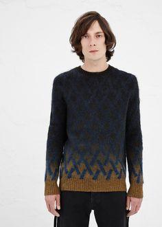 Dries Van Noten Matthew Sweater in Indigo #totokaelo #driesvannoten