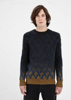 Dries Van Noten Matthew Sweater in Indigo #totokaelo #driesvannoten