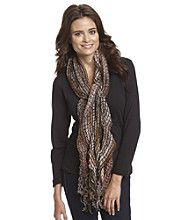 Boston Store - Cejon® Ruffle Yarn Neckwrap - Multi