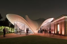 Serpentine Sackler Gallery - Architecture - Zaha Hadid Architects