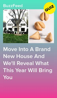New house, new you!