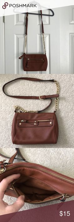 27b4135b60a6d Brown Crossbody Bag Very spacious for a crossbody! It s from Nordstrom b.p.  Section. The