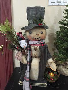 Cowboy Christmas, Christmas Gingerbread, Primitive Christmas, Christmas Snowman, Vintage Christmas, Rustic Christmas, Christmas Trees, Primitive Fall, Father Christmas