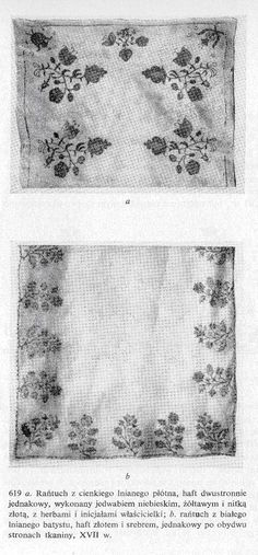 A photo of extant rantuch fabric, ca. 1600s [From Gutchowska-Rychlewska]