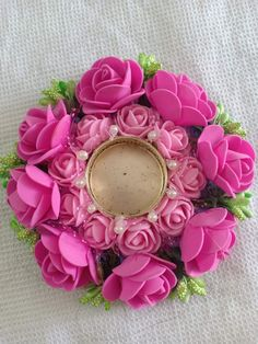 Diya Decoration Ideas, Diwali Decorations At Home, Diwali Diya, Diwali Craft, Vegetable Costumes, Diwali Candles, Flower Bouquet Diy, Indian Beadwork, Ring Pillow Wedding