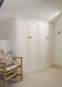 english wardrobe company slanted ceiling - Google Search