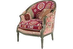 Vintage Suzani Armchair