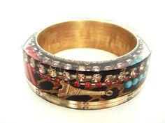 Cuff Bracelets, Bangles, Class Ring, King, Jewelry, Fashion, Bracelets, Moda, Jewlery