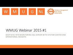 Windows Management User Group Netherlands, Webinar #1 2015 - YouTube