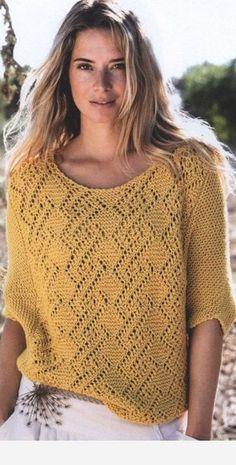New Crochet Baby Sweater Dress Yarns Ideas Crochet Dress Girl, Crochet Baby, Knit Crochet, Crochet Summer, Crochet Dresses, Knitting Baby Girl, Summer Knitting, Knitting Stitches, Knitting Patterns Free