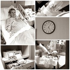 """delivery room pictures. Like this idea, but there was no point in the labor where I felt like smiling. If somebody had said """"say cheese"""" I'd have probably strangled them."""
