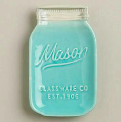 I want a cute spoon rest, mason jar spoon rest