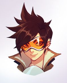I love Tracer's hair, beta tomorrow hype