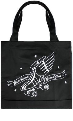 Lucky 13 Give Blood Tote Bag