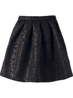 floral brocade skirt / msgm