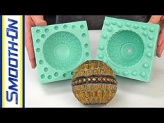 ▶ Mold Making Tutorial: How To Make a 2 Piece Silicone Rubber Mold - YouTube