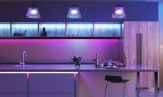 Smart lights play a huge role in the smart home—especially when it comes to creating a smart life in a truly integrated space. But smart lights have so many features that you may ignore, beyond just illuminating a space. Here are 3 things you didn't know your smart lights could do that will totally change your smart lighting experience! Led Light Strips, Led Strip, Smart Lights, Color Changing Lights, Room Lights, Strip Lighting, Smart Home, House Colors, Home And Living