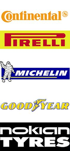 The only existing tire brands from the 1800's. From the top: *1. Continental - est. 1871 - Germany *2. Pirelli - est. 1872 - Italy *3 Michelin - est. 1889 - France *4 Goodyear - est. 1898 - Ohio, USA