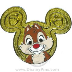 Characters on Mickey Mouse Icon - Mystery Tin Collection - Dale | Disney Pin
