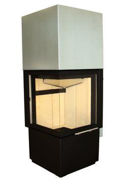 Wkład kominkowy Smart 2Lh - Hajduk  #fireplace #fireside #modern #kominek #ogrzewanie #piec