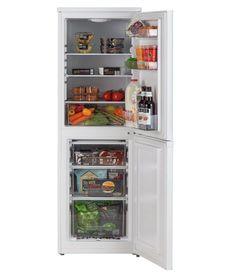 Buy Bush BSFF50152W Fridge Freezer- White at Argos.co.uk - Your Online Shop for Fridge freezers.