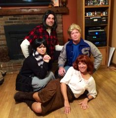 The Breakfast Club...an awesome idea for an 80's movie costume party!