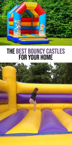 Ultimate Guide to the Best Bounce House for Kids Toddler Bounce House, Indoor Bounce House, Water Slide Bounce House, Bounce House With Slide, Inflatable Bounce House, Trampoline Ideas, Toddler Trampoline, Backyard Trampoline, Bounce House Birthday