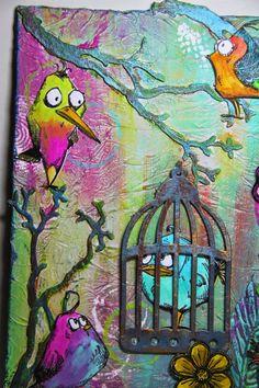 Felicie`s Creativwelt: Crazy Birds