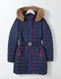 Alberta Puffer Coat (Post Box Red)