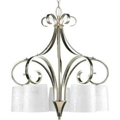 Buy the Progress Lighting Brushed Nickel Direct. Shop for the Progress Lighting Brushed Nickel Nicollette Five-Light Single-Tier Chandelier with Down Lighting Etched Tapered Drum Glass Shades and save. Home Depot, Lowes Home Improvements, Dining Room Light Fixtures, Dining Room Lighting, Canada Lighting, 5 Light Chandelier, Chandeliers, Progress Lighting, Dining Room Inspiration