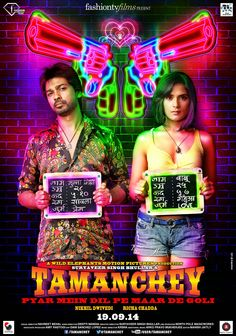 "Tamachey First Look- Wiki, Starcast, Trailer, Release Date WIKI A crime based movie "" Tamanchey"" is ready to hit theatres in September. This film is directed by Navneet Behel and it has been produced by Suryaveer Singh Bhullar under the banner of Wild Elephant's motion pictures in association with fashion TV. Tamanchey is a wild, passionate love story of two criminals. This film has already created hype for its real life criminals based love story. There is no such big star cast but they are…"