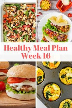This week's healthy meal plan is packed with yummy dishes like Spinach and Artichoke Quesadillas, Slow Cooker Carnitas, Sheet Pan Thai Chicken, and more. All with nutritional info and Weight Watchers Smartpoints. | Meal Plan | Weight Watchers | Slender Kitchen | Healthy Recipes | #healthyrecipes #weightwatchers #slenderkitchen #mealplan